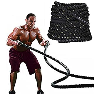 Outdoortips 38mm 9.2M Training Battling Battle Power Rope Body Strength Sport Exerice Fitness Bootcamp