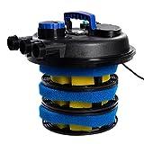 GOPLUS Set 10000L Eco Pompa Stagno Biofiltro per Stagni Pompa Filtro Pompa per Laghetto, Acquario, Stagno e Fontana