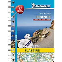Mini Atlas France plastifié Michelin