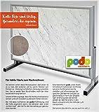 Schreibtisch-Heizung ICE GREY 30 Cent pro Arbeitstag Büro-Heizung Zustell-Heizung Fuß-Heizung Infrarot-Heizung Elektro-Heizung Zustell-Heizung