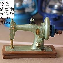 SQBJ Un único envío gratis Home Furnishing resina artesanía antigüedades trompeta antigua cámara fotográfica del ventilador