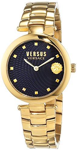 Versus by Versace Femme Analogique Quartz Montre avec Bracelet en Acier Inoxydable VSP870718