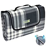 Beautissu BellaKa Picknickdecke Wasserdicht 200x200 XXL Outdoor