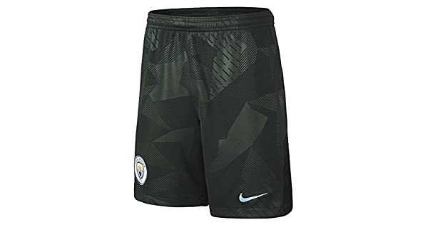 Nike 2017-2018 Man City Home Football Shorts White