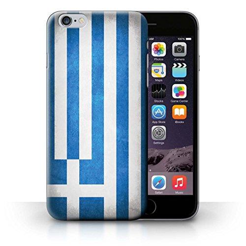 Hülle für iPhone 6+/Plus 5.5 / Schweiz/Swiss / Flagge Kollektion Griechenland/Griechisch