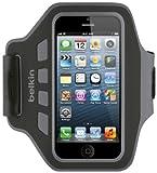 Belkin F8W205-C00 Neopren/Polyester Armband Schutzhülle (geeignet für iPhone 5) schwarz [Amazon Frustfreie Verpackung]