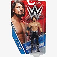 AJ STILI NERO ABBIGLIAMENTO 'The fenomenale UNO'- WWE BASE SERIE 73 wrestling action figure - AJ Styles Black Attract 'The Phenomenal One' - Serie WWE Basic 73 Figura di Wrestling Action
