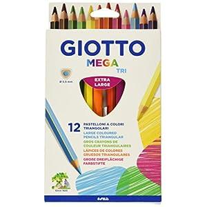 Giotto Kredki Mega Tri 12 sztuk (Bürobedarf & Schreibwaren)