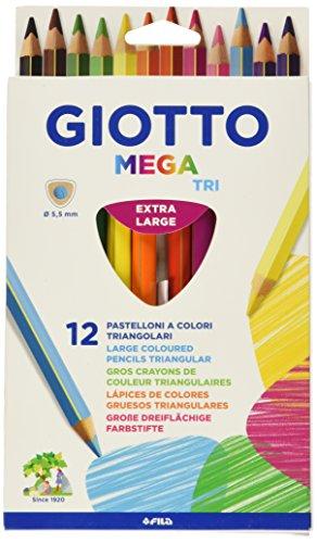 Preisvergleich Produktbild Giotto Kredki Mega Tri 12 sztuk
