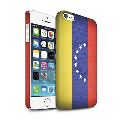 Clipser Matte Coque de Stuff4 / Coque pour Apple iPhone 7 / Haïti/Haïtien Design / Drapeau Amérique Collection Venezuela/Vénézuélien