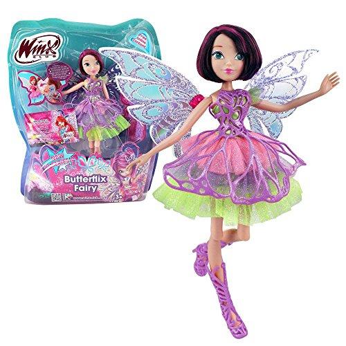 Winx Club - Butterflix Fairy - Hada Tecna Muñeca 28cm con...