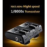 Kaavie - Viltrox Déclencheur à distance sans fil E-TTL et déclencheur flash à haute vitesse / déclencheur multifonctionnel 3-en-1 pour Canon, FSK 2.4 Ghz, incl. 2 x FC-210C Déclencheur à distance sans fil TTL (tranceiver), 3 x lignes de connexion, mini pied pour flash), Mod. FC-210C