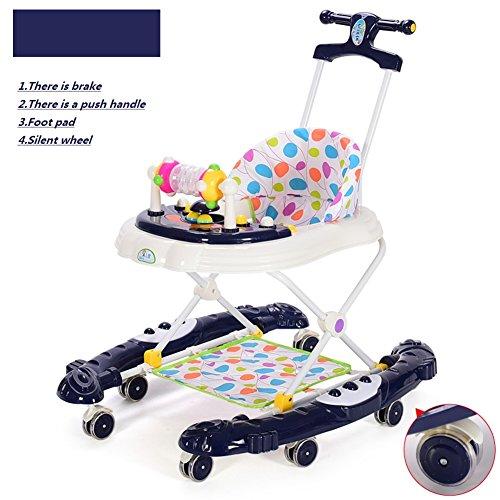 Coperta baby walker, Bambino bambino portatile scooter yo yo pieghevole bambino monta bambino attività walker a piedi-a-bout-A
