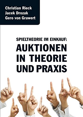 Preisvergleich Produktbild Spieltheorie im Einkauf - Auktionen in Theorie und Praxis