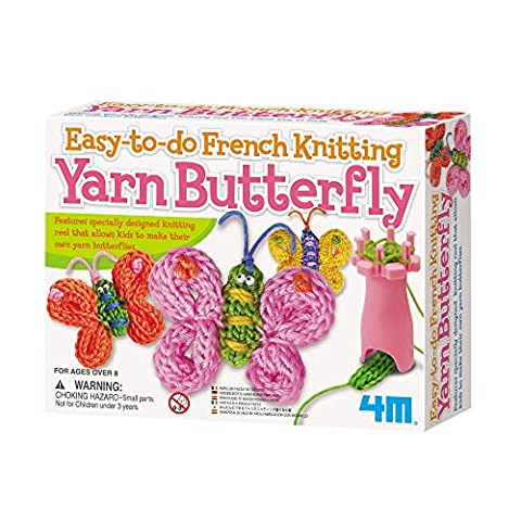 4M Easy-To-Do French Knitting Yarn Butterfly Kit
