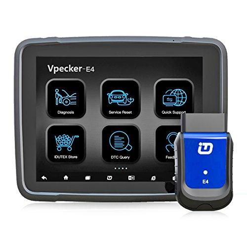 Vpecker E4OBD2Bluetooth Scanner mit Tablet, professionelle Auto Komplette System OBD2Reader Diagnostic Scanner Kompatibel mit Android & Windows Geräte