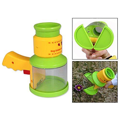 OFKPO Kinder Mikroskop Spielzeug,Insekten Fänger Natürliche Forschung Lernspielzeug -