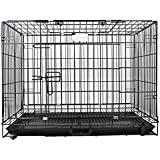 W9 Cage for Rabbit/Cat/ Guinea Pig with Removable Tray-L -45cm* W-29cm*H-38cm (18 Inch)