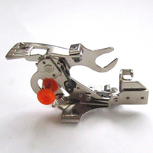 kunpeng-Ruffler Fuß für Niedriger Schaft Nähmaschine für Brother Singer JANOME Kenmore Juki Babylock # 55705 (Ruffler Nähmaschine Fuß)