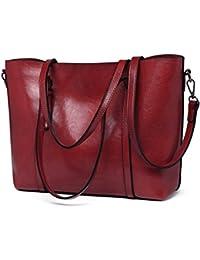 f5be329293 Miss Lulu Borsa donna pelle sintetica Marchio di moda borsa a tracolla  grande qualità borsa messenger
