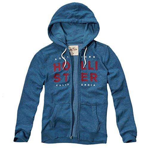hollister-herren-textured-logo-graphic-hoodie-kapuzenpullover-strickjacke-grosse-m-blau-624043172