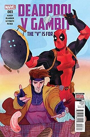 DEADPOOL VS GAMBIT #3 (OF 5) ((Regular Cover)) - Marvel
