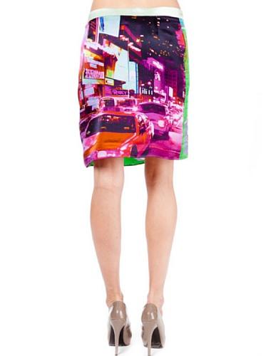 Custo Barcelona -  Gonna  - linea ad a - Donna Multicolore