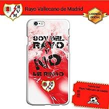 Funda Gel Flexible Rayo Vallecano para iPhone 6 iPhone 6S, Carcasa TPU, protege y se adapta a la perfección a tu Smartphone. Licencia oficial Rayo Vallecano - Lema1