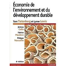 Economie de l'environnement et du développement durable
