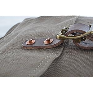 51UEm%2Bl3oAL. SS300  - GOOTIUM Bolso de Hombro para Mujer, Army Green (Verde) - 60613AMG