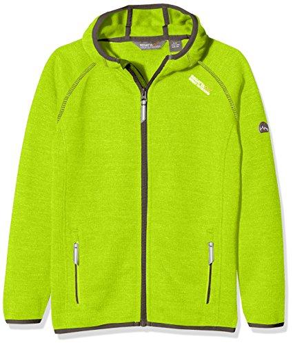 Regatta Dissolver Kids' Outdoor Fleece Jacket available in Lime Zest - Size 5-6