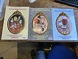 lot de 3 répertoire illustré des échantillons gratuits et des miniatures de parfum...