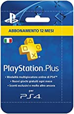 PlayStation Plus Card Hang Abbonamento 12 Mesi