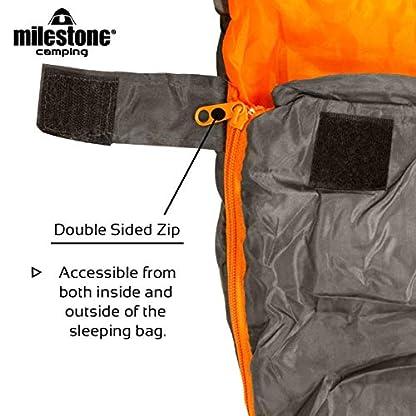 Milestone Camping Mummy Sleeping Bag 3
