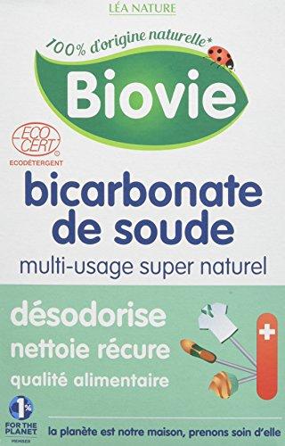 Biovie Bicarbonate de Soude Ménager Grand Format 500 g - Lot de 2