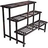 Truphe Heavy Duty Gardening Plant Stand, Gamla Stand, Flower Pot Stand (3 Step)