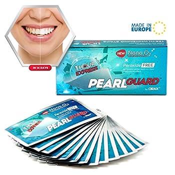 Orax White Stripes Zur Zahnaufhellung, 28 Peroxidfrei Whitening Strips Für Weisse Zaehne, Zähne Bleichen In 14 Tagen 0