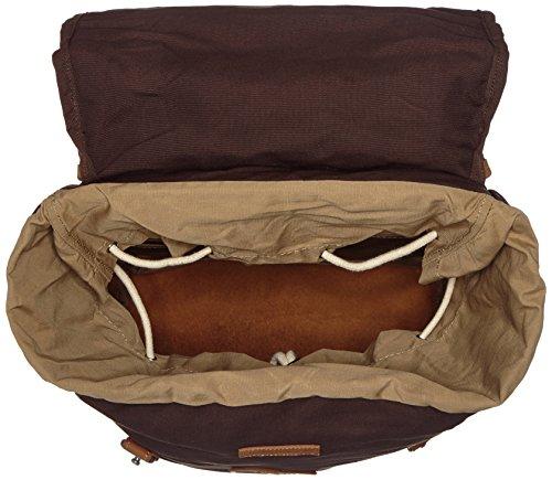 Fjällräven 24206-633 Sac à dos Dark Olive Taille L hickory brown