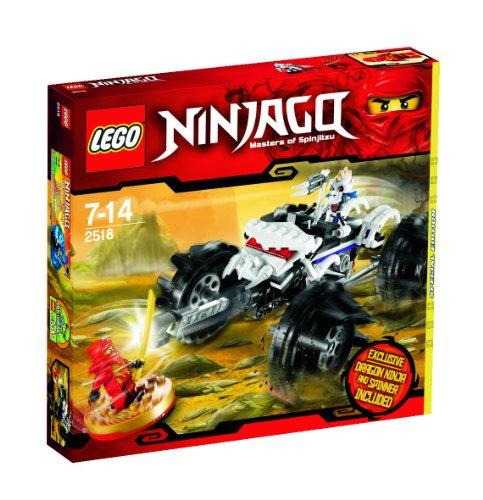 Lego 2518 Ninjago - Les maîtres de Spinjitzu - Dragon Ninja et Spinner