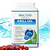 Pure Krill Oil, Super Omega 3 Supports Healthy Heart, Brain, Joint Health, Memory