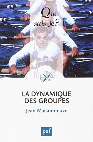 Book's Cover of La dynamique des groupes