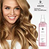 Eylleaf Keratin Leave-In Hair Conditioner with Vitamins B8, H, A, E for all hair types 200 ml