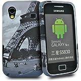 Accessory Master Coque en silicone pour Samsung Galaxy Ace S5830 Paris tour avec vue sur jardin