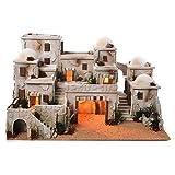 Borgo arabo completo con capanna 42x70x50 cm