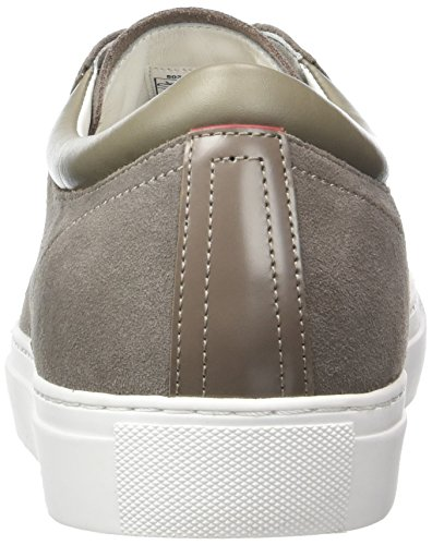 Hugo Casualfut_tenn_sd 10195390 01, Sneakers Basses Homme Gris (Medium Grey)