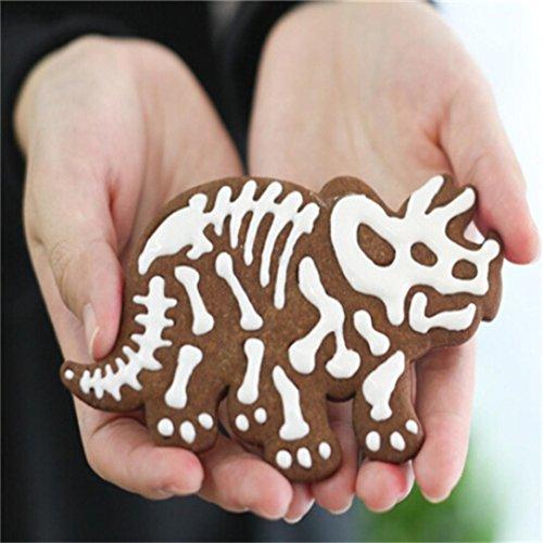 zeug Dinosaurier Form Biskuit Plätzchen Scherblock Fondant Kuchen Dekor Backen (Dinosaurier-cake-pops)