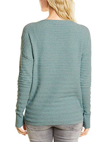 Cecil Damen Pullover Grün (Green Heather Melange 11149)