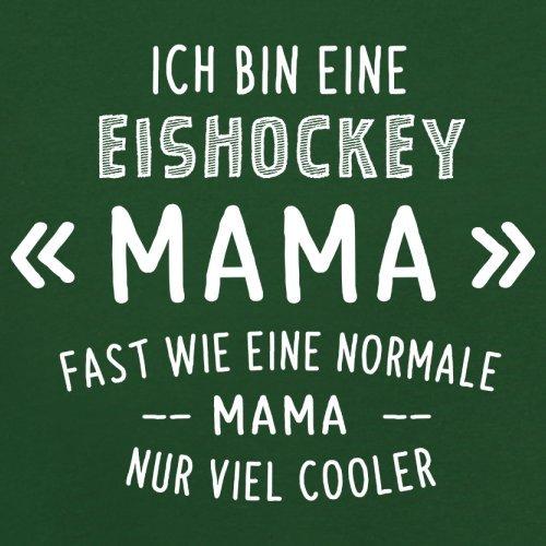 Ich bin eine Eishockey Mama - Herren T-Shirt - 13 Farben Flaschengrün
