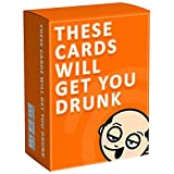 Adoudou These Cards Will Get You Drunk Divertente Gioco da Bere per Adulti Party Cards Bar Game Card