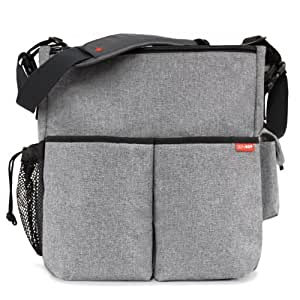 buy skip hop duo essential diaper bag gray online at low prices in india. Black Bedroom Furniture Sets. Home Design Ideas